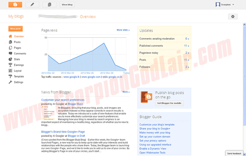 Blogger vs WordPress Blogspot Overview